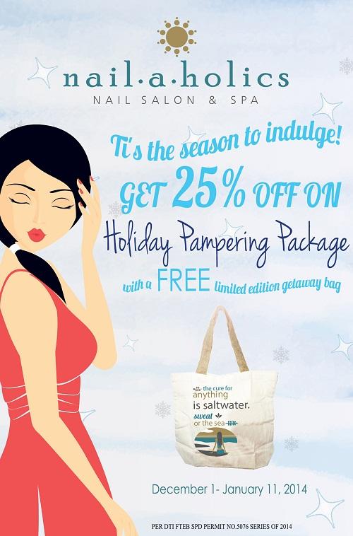 NH holiday pampering promo