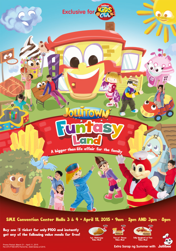 Let Your Kids Experience Jollitown Funtasy Land - Mommy