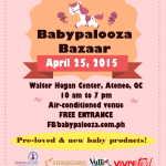 Babypalooza 2015 – Budget Friendly Baby Bazaar