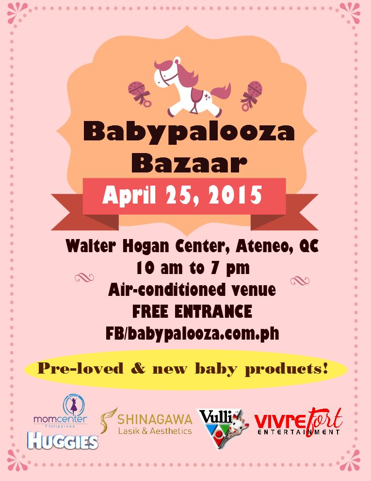 Babypalooza April 2015 flyer