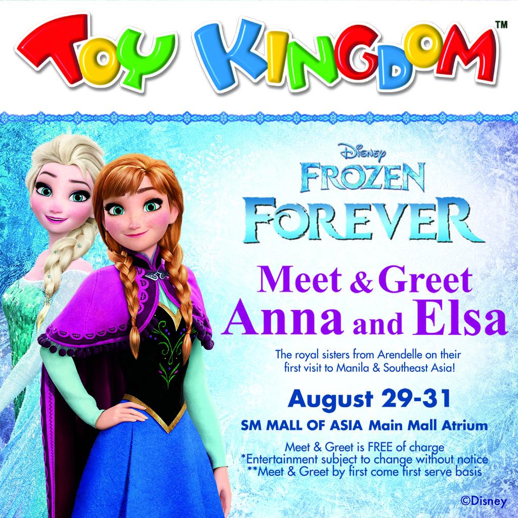 Disney frozen forever meet greet mommy bloggers philippines disney frozen forever meet greet m4hsunfo