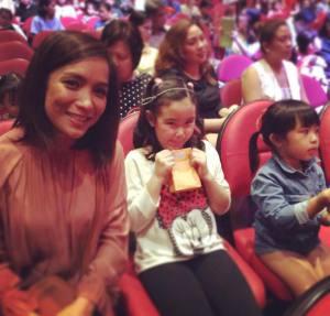 Celebrity Mom Pia Guanio at Disney Live