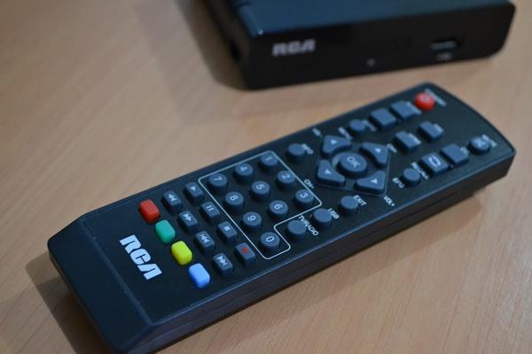 rca digital tv box remote