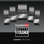 Fujidenzo Matte Black Series – Stylish And Easy-To-Use Cooking Ranges