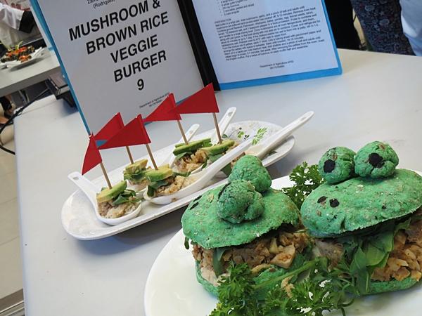 Brown Rice and Mushroom Burger