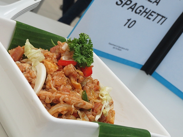 Spaghetti Brown Rice