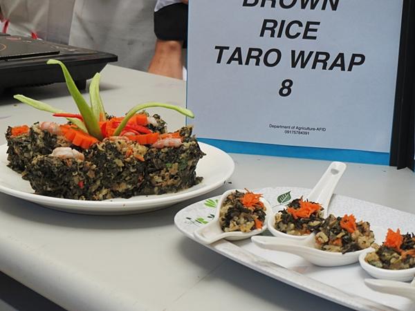 Brown Rice Taro Wrap