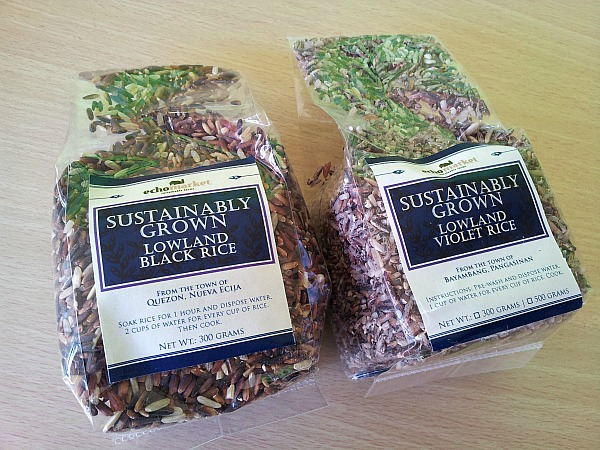 Sustainably grown rice - Sustainable merchandise from ECHOStore