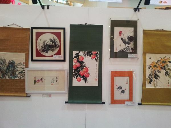 Chinese painting exhibit