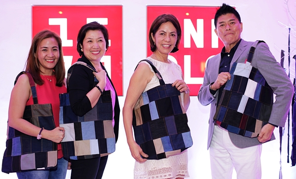 UNIQLO Excess Denim Fabric Helps Empower Women in th Philippines_Photo