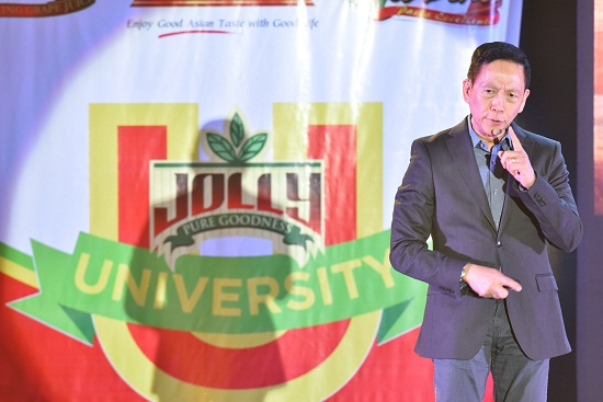 _JOLLY University Food Congress speaker, Francis Kong on   Developing Your Competitive Edge.