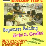 Artsy Summer Workshop For Kids In Araneta Center