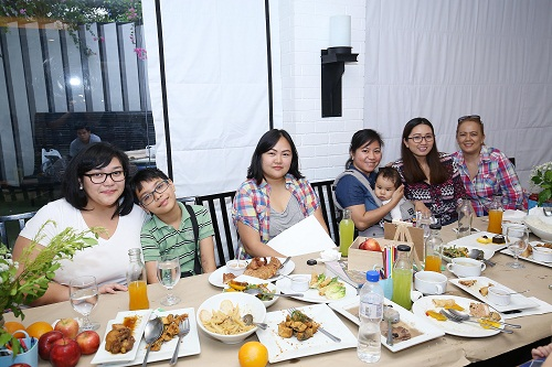 Some of the moms from Mommy Bloggers Philippines who attended Health Watch