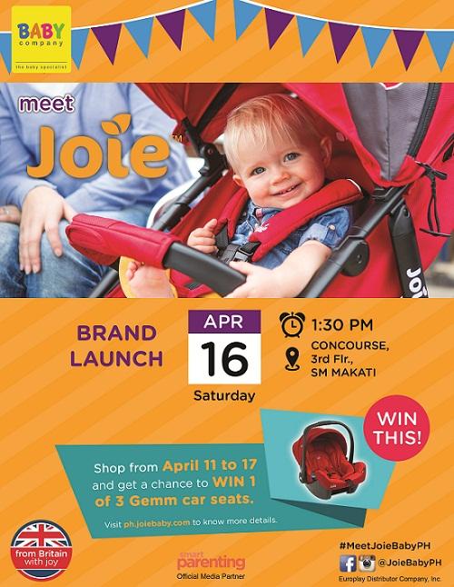 Meet Joie Brand Launch Poster