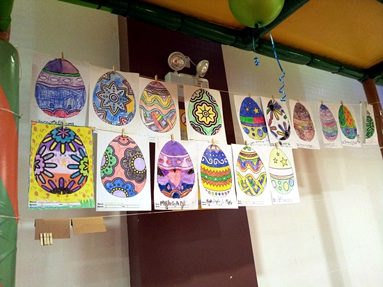 Active Fun Easterrific Sunday - Easter Egg Coloring