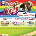 Robinsons Supermarket and Unilever Philippines Give 'Bags of Hope' to World Vision Kids