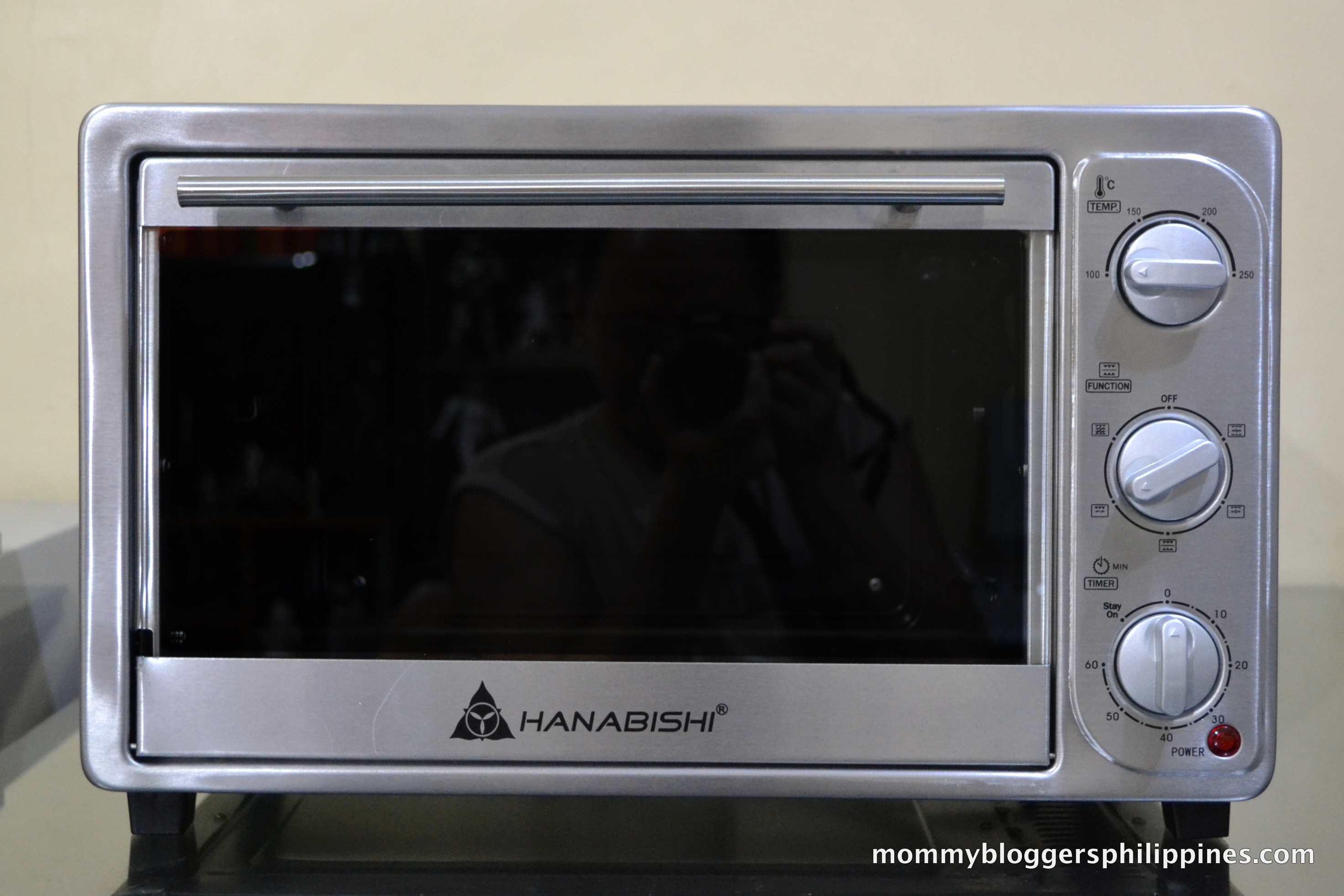 Hanabishi Stainless Steel Electric Oven