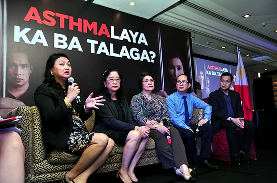 World Asthma Day Event with doctors Carmela Kasala, Sylvia Yang, Jennifer Ann Wi, Vincent Balanag and Melvin Pasay