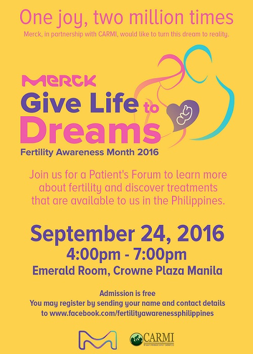 Give Life to Dreams Patient Forum Invite blog