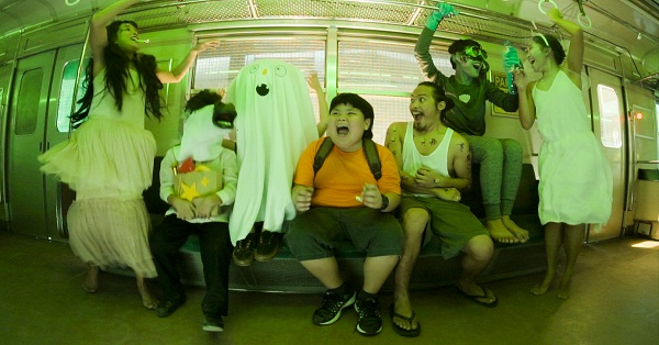 Nickelodeon Takotown Fright Express 2016 SMALL