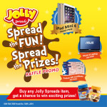 Spread The Fun, Spread The Prizes – Jolly Spreads Raffle Promo