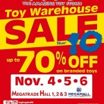 FAQ About Toy Kingdom's Toy Warehouse Sale Year 10