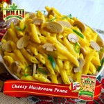 Cheesy Jolly Mushroom Penne Recipe