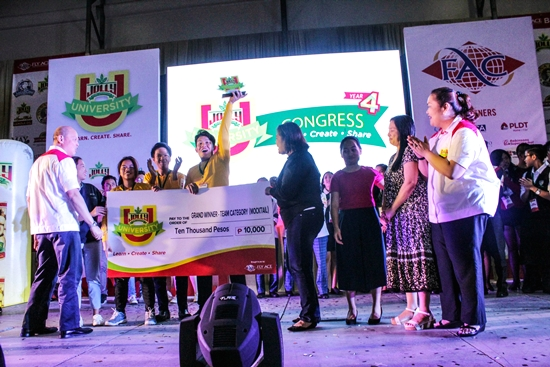Grand winner of the mocktails (team category) - Lyceum Subic Bay