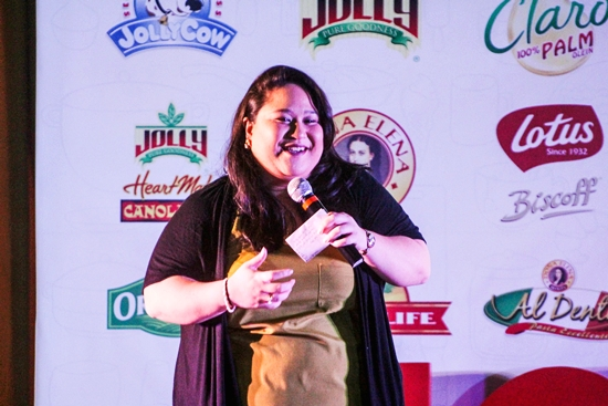 Karla Reyes is among the speakers who inspired the students about her experiences in food entrepreneurship
