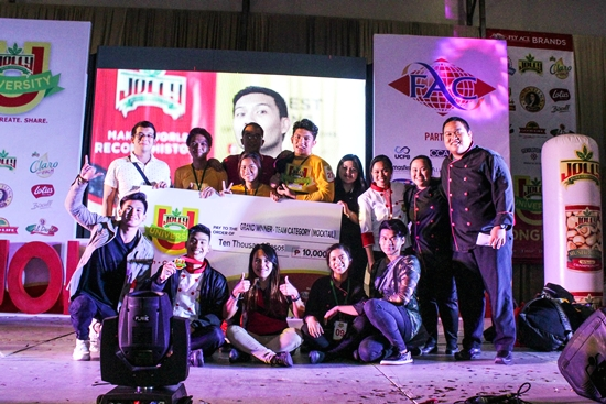 Lyceum Subic Bay is the Grand Winner of the mocktail category