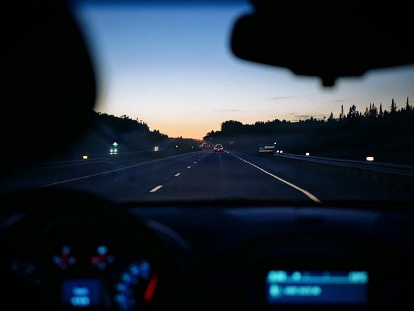 Night roadtrips