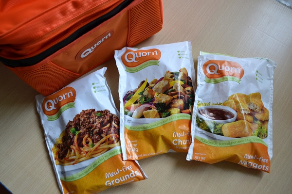 Enjoy Quorn Meat-Free Grounds, Chunks and Nuggets