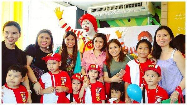 Mommy Bloggers Philippines McDonalds Kiddie Crew Launch