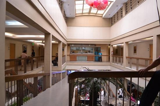 An inner view of Dr. Jesus Delgado Memorial Hospital