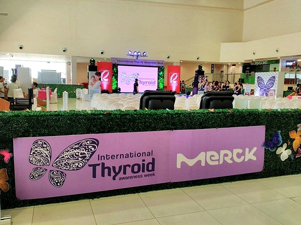 Merck as the primary supporter of International Thyroid Awareness Week