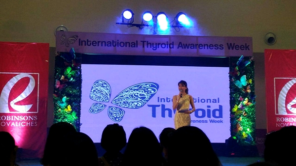 International Thyroid Awareness Week at Robinsons Novaliches Trade Hall
