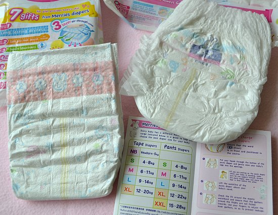 Japan Brand Merries Diaper - Is It Worth Trying For Your