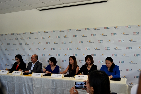 Mommy Mundo and Sun Life signs partnership agreement
