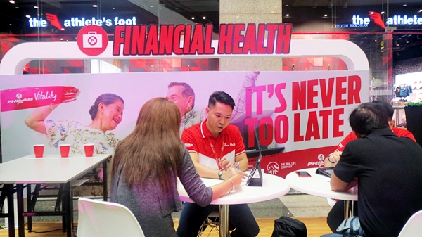 Financial health is also one of the pillars of total wellness. Philam Life team gave free consultation and advice to gain financial security thru Philam Life.