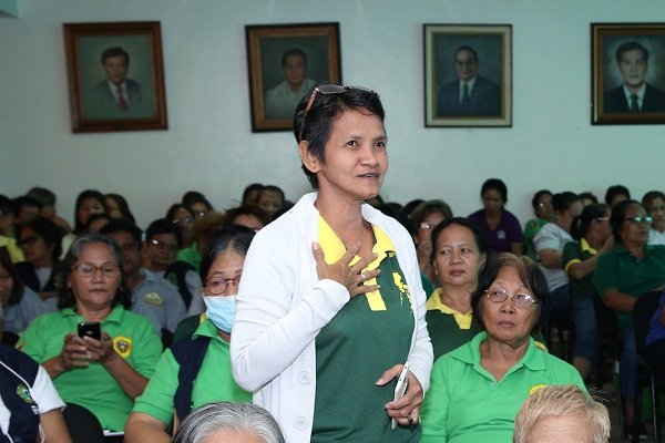 149 BHWs from all over Parañaque City participated in the discussion on head lice infestation.