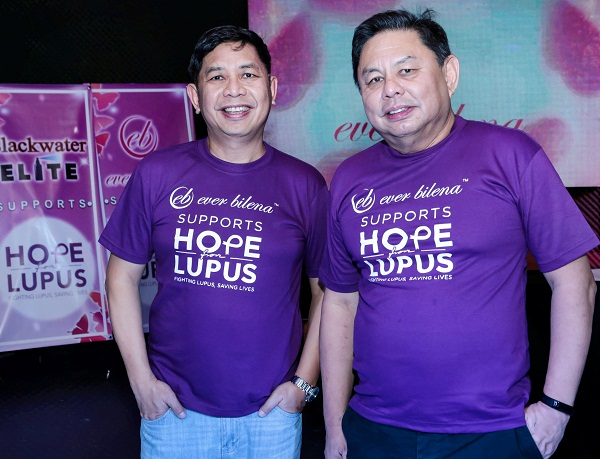 Ever Bilena supports Hope for Lupus